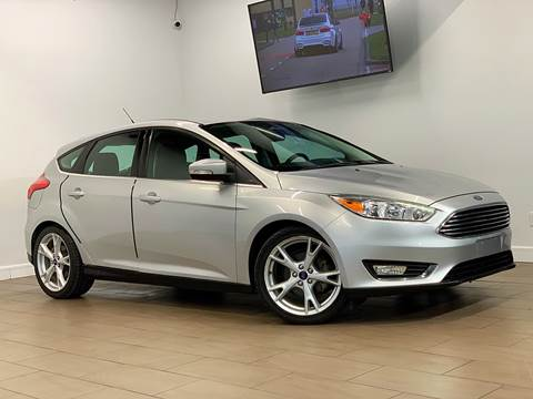 2015 Ford Focus for sale at TX Auto Group in Houston TX