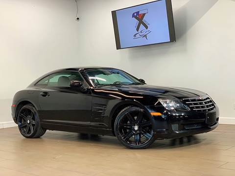 2005 Chrysler Crossfire for sale at TX Auto Group in Houston TX