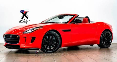 2014 Jaguar F-TYPE for sale at TX Auto Group in Houston TX