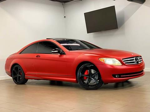 2008 Mercedes-Benz CL-Class for sale at TX Auto Group in Houston TX