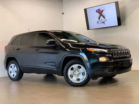 2014 Jeep Cherokee Sport for sale at TX Auto Group in Houston TX