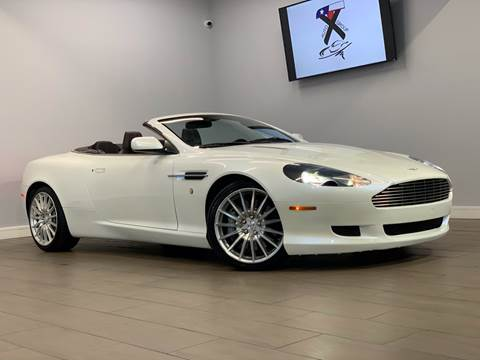 2007 Aston Martin DB9 for sale at TX Auto Group in Houston TX