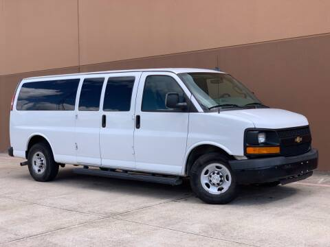 2016 Chevrolet Express Passenger for sale at TX Auto Group in Houston TX
