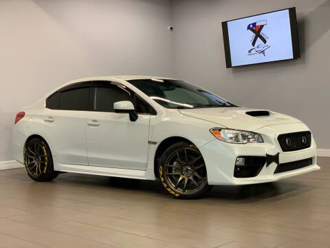 2017 Subaru WRX for sale at TX Auto Group in Houston TX