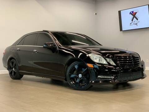 2013 Mercedes-Benz E-Class for sale at TX Auto Group in Houston TX
