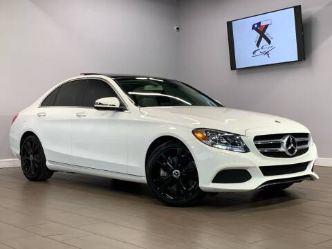 2018 Mercedes-Benz C-Class for sale at TX Auto Group in Houston TX