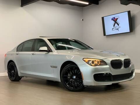 2012 BMW 7 Series for sale at TX Auto Group in Houston TX