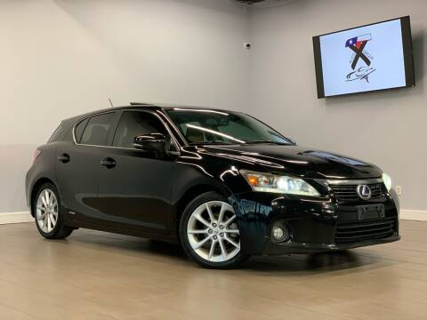 2012 Lexus CT 200h for sale at TX Auto Group in Houston TX
