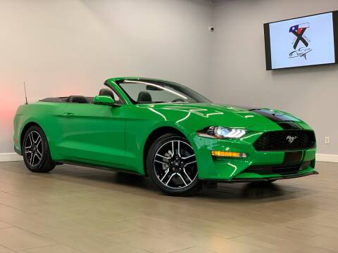 2019 Ford Mustang for sale at TX Auto Group in Houston TX