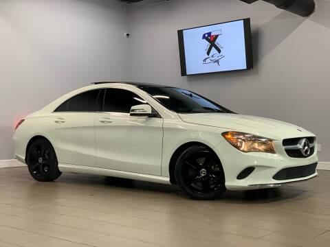 2018 Mercedes-Benz CLA for sale at TX Auto Group in Houston TX