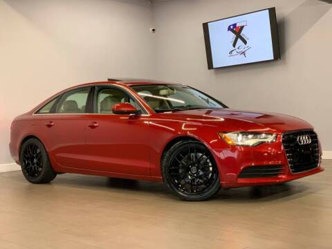 2013 Audi A6 for sale at TX Auto Group in Houston TX