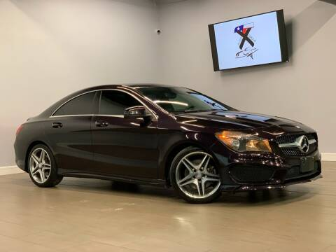 2014 Mercedes-Benz CLA for sale at TX Auto Group in Houston TX