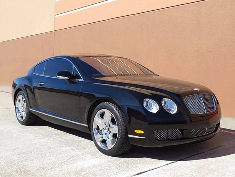 2005 bentley continental gt 2 dr turbo coupe