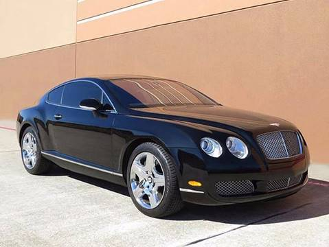 2005 Bentley Continental GT for sale at TX Auto Group in Houston TX