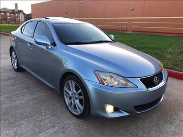 2006 Lexus IS 350 for sale in Houston, TX