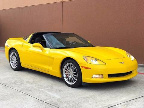 2009 Chevrolet Corvette for sale at TX Auto Group in Houston TX