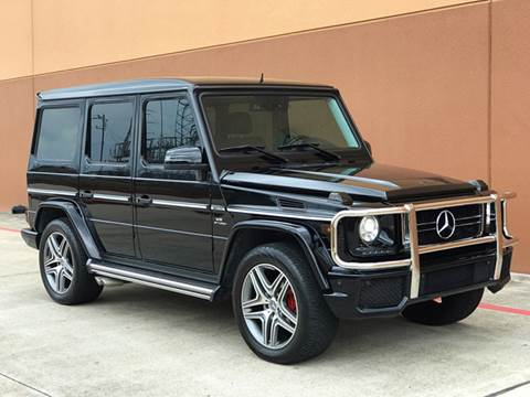 2010 Mercedes-Benz G-Class for sale at TX Auto Group in Houston TX