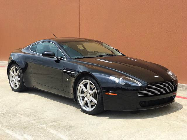 Aston Martin V Vantage Dr Coupe In Houston TX TX Auto Group - 2007 aston martin v8 vantage