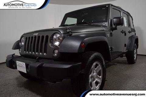2014 Jeep Wrangler Unlimited for sale in Wall Township, NJ