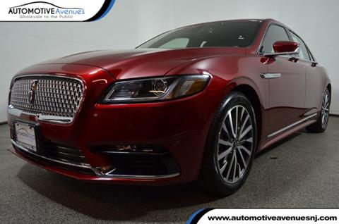 2017 Lincoln Continental for sale in Wall Township, NJ