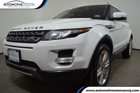 2012 Land Rover Range Rover Evoque for sale in Wall Township, NJ