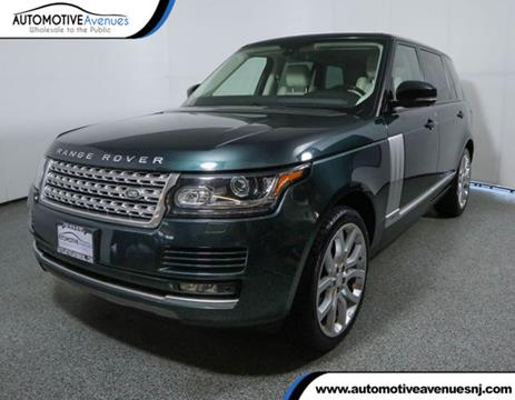 2015 Land Rover Range Rover for sale in Wall Township, NJ