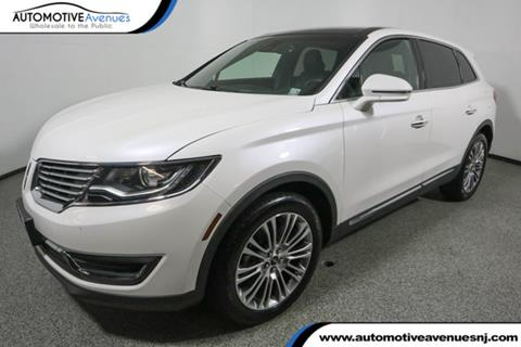 2016 Lincoln MKX for sale in Wall Township, NJ