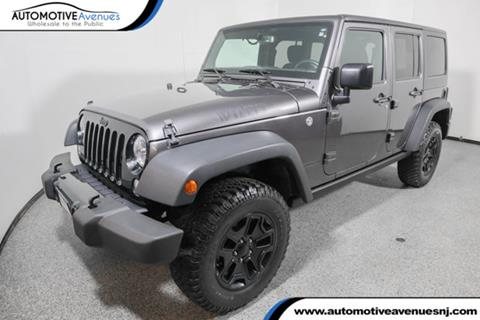 2016 Jeep Wrangler Unlimited for sale in Wall Township, NJ
