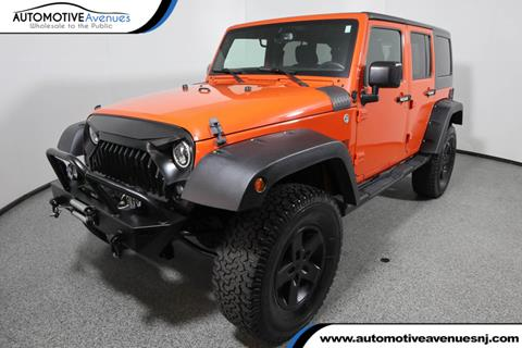 2015 Jeep Wrangler Unlimited for sale in Wall Township, NJ