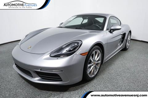 2017 Porsche 718 Cayman for sale in Wall Township, NJ