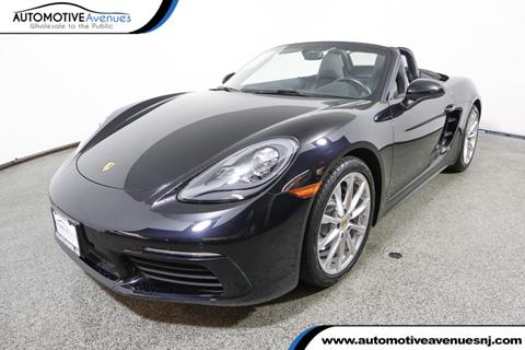 2017 Porsche 718 Boxster for sale in Wall Township, NJ