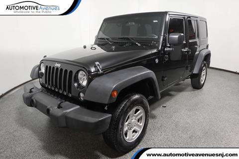 2017 Jeep Wrangler Unlimited for sale in Wall Township, NJ