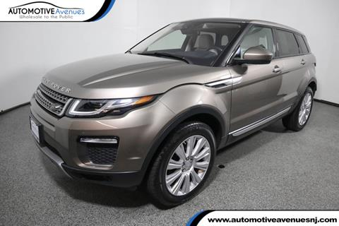 2016 Land Rover Range Rover Evoque for sale in Wall Township, NJ