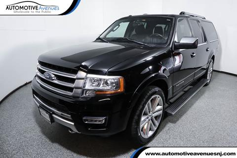 2016 Ford Expedition EL for sale in Wall Township, NJ