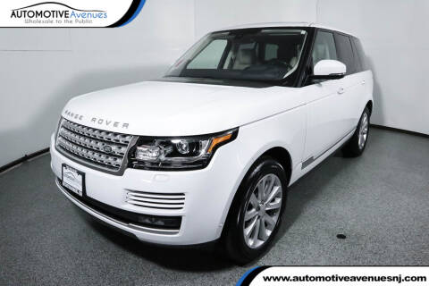 2016 Land Rover Range Rover HSE Td6 for sale at Automotive Avenues LLC in Wall Township NJ