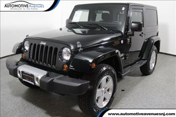 2012 Jeep Wrangler for sale in Wall Township, NJ