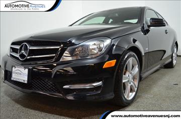 2012 Mercedes-Benz C-Class for sale in Wall Township, NJ