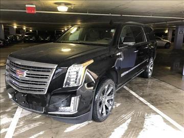 2017 Cadillac Escalade ESV for sale in Greenwich, CT