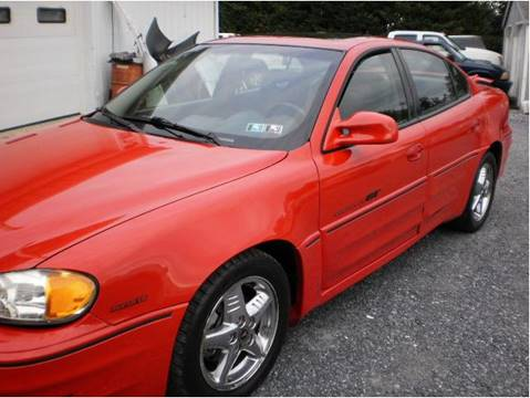2001 Pontiac Grand Am for sale at BIRD'S AUTOMOTIVE & CUSTOMS in Ephrata PA