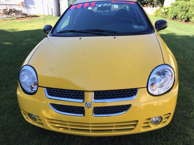2004 Dodge Neon for sale at BIRD'S AUTOMOTIVE & CUSTOMS in Ephrata PA