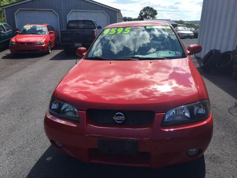 2003 Nissan Sentra for sale at BIRD'S AUTOMOTIVE & CUSTOMS in Ephrata PA