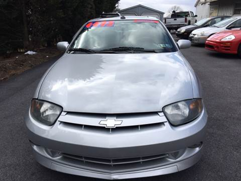 2004 Chevrolet Cavalier for sale at BIRD'S AUTOMOTIVE & CUSTOMS in Ephrata PA