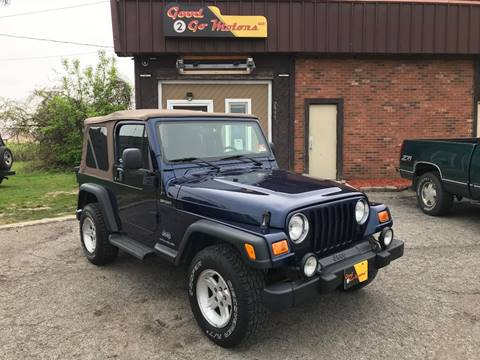 2004 Jeep Wrangler for sale in Adrian, MI