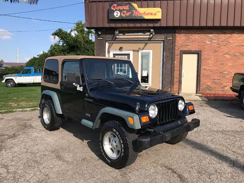 1998 Jeep Wrangler for sale in Adrian, MI