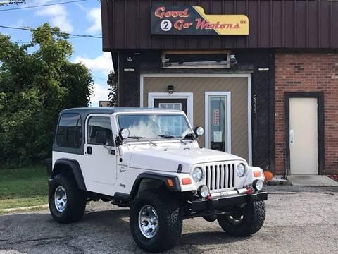 1999 Jeep Wrangler for sale in Adrian, MI