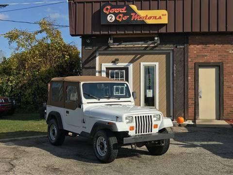 1993 Jeep Wrangler for sale in Adrian, MI