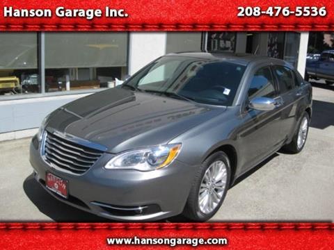 2012 Chrysler 200 for sale in Orofino ID