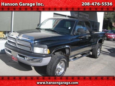 2002 Dodge Ram Pickup 2500 for sale in Orofino ID
