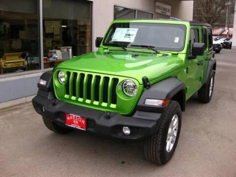 2019 Jeep Wrangler Unlimited for sale at Hanson Garage Inc in Orofino ID