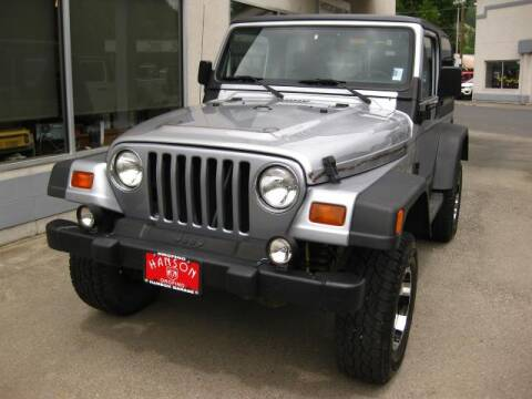 1998 Jeep Wrangler SE for sale at Hanson Garage Inc in Orofino ID